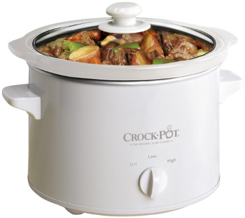 slow cooker a 2.4 litre crock-pot