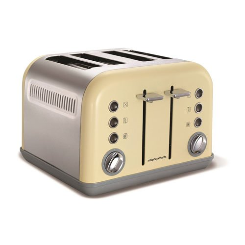 Morphy Richards Accents  best buy 4 slice toaster has independent browning controls