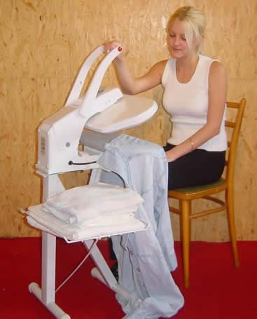clothes presses can be used sitting down