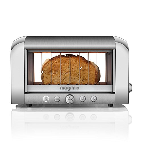 The worlds first see through toaster with glass heating elements