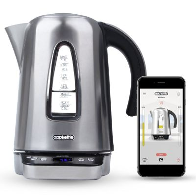 Tea kettles  break new ground with this cloud based hi tech Appkettle