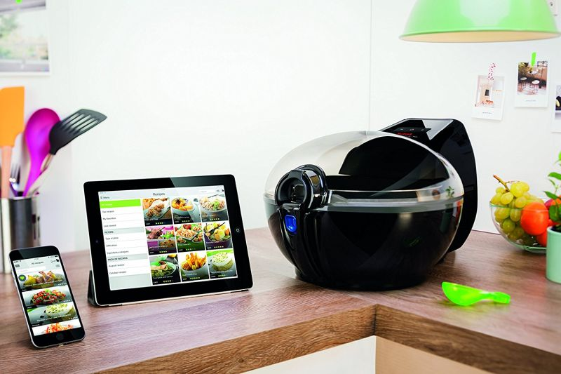 The PainFree Shopping Air Fryer Guide Tefal Smart blue tooth conncetd smart programmable app controlled