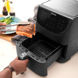 The PainFree Shopping Air Fryer Guide The Cosori 3,5l can cook 3 average portions at a time